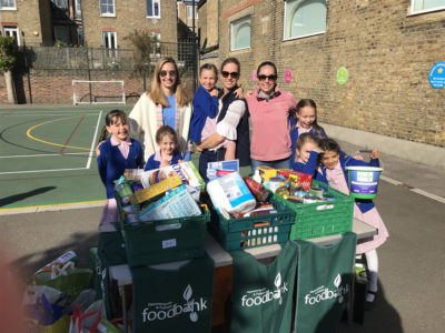 Donations to Hammersmith & Fulham Food Bank Collection