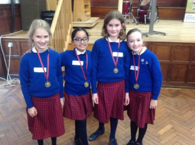 St Anne's Maths competition