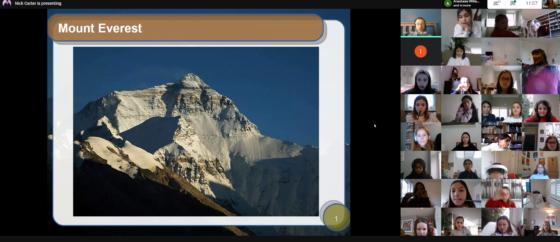 Climbing Mount Everest Talk